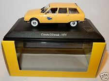 UH UNIVERSAL HOBBIES CITROEN GS BREAK 1975 POSTES POSTE PTT 1/43 IN LUXE BOX