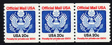Sc# O-135 20 Cent Offical (1985) MNH PNC/3 P# 1 SCV $12.00