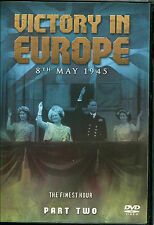 VICTORY IN EUROPE 8th MAY 1945 DVD - THE FINEST HOUR - PART TWO