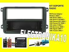 SOPORTE KIT Facia Auto radio Volkswagen golf 5 TOURAN PASSAT JETTA TIGUAN TOURAN