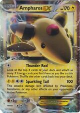 Ampharos EX - 27/98 - Ultra Rare -(x1)- XY Ancient Origins - NM-Mint!!!