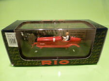 RIO 1:43  - ALFA ROMEO P3  BENITO MUSSOLI  - IN ORIGINAL BOX -   GOOD CONDITION