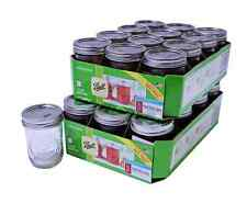 Canning Jars Set of 24 half-pint 8oz Ball Mason Glass Jams Baby Food Preserves