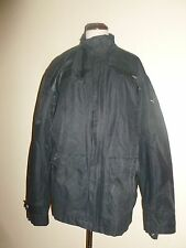 Puma Mens Black Jacket Coat Light Nylon Cotton sz XL