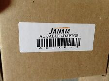 Janam AC cable adapter with three interchangeable different style plug ends