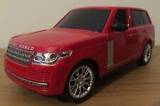 RANGE ROVER LAND SUV ROVER RADIO REMOTE CONTROL CAR 1:16 STEERING WHEEL 25CM RED