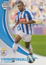 N°269 SINAMA-PONGOLLE # FRANCE RC.RECREATIVO CARD PANINI MEGA CRACKS LIGA 2008