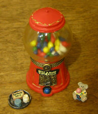 Boyds Treasure Box #392134 Bubba's Gumball Machine 2nd Ed NEW from Retail Shop