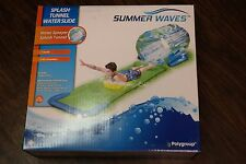 "Splash Tunnel Water Slide 165""x41""x37"" Splash Tunnel Water Slide (H)"