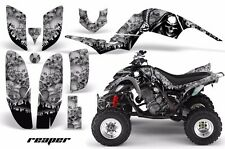 AMR Racing Yamaha Raptor660 Graphic Kit Wrap Quad Decals ATV 2001-2005 REAPER S