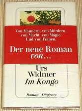 NEU, OVP - Urs Widmer - IM KONGO - Von Männern und Mördern, von Macht, von Magie