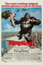 KING KONG classic movie poster VIOLENT romantic BEAUTY and the BEAST 24X36
