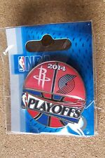 2014 NBA Playoffs pin Houston Rockets vs Portland Trailblazers