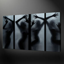 EROTIC NUDE GIRLS 1 PANEL CANVAS WALL ART PICTURES PRINT 30x20 Inch FREE UK P&P