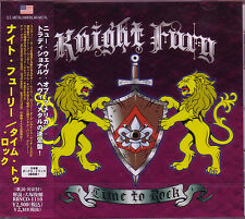 KNIGHT FURY Time To Rock + 2 JAPAN CD Lizzy Borden Megadeth Fifth Angel Impellit