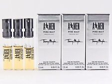 THIERRY MUGLER A MEN PURE MALT CREATION 2013 1.5ml .05oz x 3 COLOGNE SAMPLES