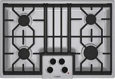 Bosch 500 Series NGM5054UC 30 Inch Gas Cooktop - stainless steel