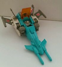 Transformers g1 headmaster brainstorm Takara hasbro made in japan 1986 completo.