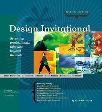 Adobe Master Class : Design Invitational by Deke McClelland (2001, CD-ROM /...