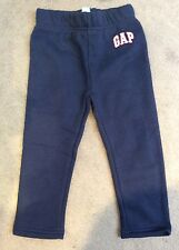BABY GAP NAVY BLUE SWEATPANTS WITH SMALL WHITE LOGO ON LEFT LEG - 12-18m BNWT