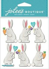 Jolee's EASTER BUNNIES Stickers BUNNY RABBIT