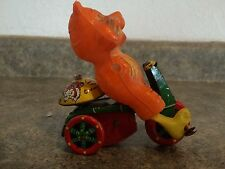 Vintage Tin Wind Up Tiger On A Tricycle Made By Louis Marx Toys Made in Japan