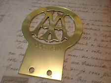 CLASSIC AA CAR BADGE 1906 - 1911 IN GREAT CONDITION AS PER PHOTO