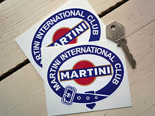 MARTINI INT. CLUB 100mm racing sticker Porsche Lancia