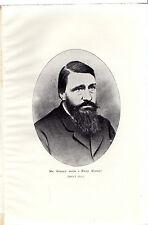 Boer WAR RITRATTI-Kruger come un campo cornetta-DAI TEMPI DI STORIA (1900)