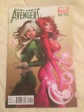 UNCANNY AVENGERS #20 1:25 GREG LAND RETAILER VARIANT ROGUE & SCARLET WITCH HOT!
