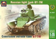 1/35 Russian light tank BT-7M Ark Models 35027 Models kits