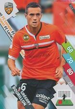 FCL-03 GREGORY BOURILLON # FC.LORIENT CARD ADRENALYN FOOT 2015 PANINI