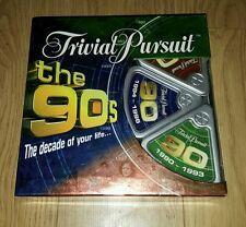 Trivial pursuit la 90s fête de famille board jeu parker 2005 complet quiz 1990s