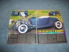 "1927 Ford Model T Roadster Hot Rod Article ""The Definitive T Highboy"""