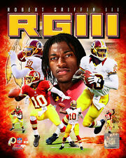 ROBERT GRIFFIN III RG3 ~ 8x10 Color Photo Picture Collage ~ Washington Redskins