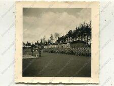Foto, Appell im Reichsarbeitsdienstlager 215 in Brand bei Aachen, d (W)1162