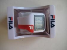 FILA Unisex Digital Red/White Watch $59.99