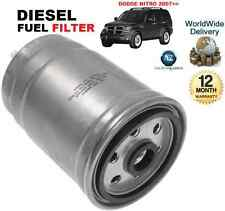 FOR DODGE NITRO 2.8DT 07-2007 ON SUV MPV NEW DIESEL FUEL FILTER OE QUALITY