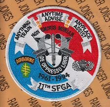 """11th Special Forces Group Airborne SFGA ODA 1961-1994 4.5"""" pocket patch"""