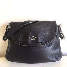 Kate Spade New York Cobble Hill PENNY Black Leather Hobo Shoulder HandBag Purse