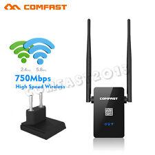 750Mbps Dual Band 5G WiFi Sans Fil Répéteur AP Routeur Gamme Booster Extender EU
