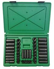 "S-K TOOLS #4090: 40pc 3/8"" Drive Impact Socket Set. MADE IN USA!"