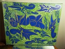 NYC CANVAS PAINTING BY MUSK YAI 16X20 GRAFFITI ABSTRACT 2013~ KILLUMINATI ww3