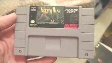 Secret of Mana (Super Nintendo Entertainment System, 1993) VGC Rare nice label