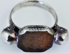 The most important Occultist Count St.Germain's  Memento Mori Skulls ring c 1744