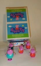 New Peppa Pig, {Box with 6 Choc Surprise Eggs & Toys Inside}Free, 1 Kind Bar!!!