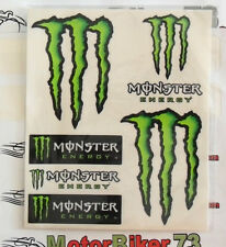 KIT 6 AdesivI 004/R Monster 130x160mm 1X AUTO QUAD MOTO SUZUKI KAWASAKI APRILIA
