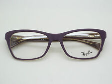 NEW Authentic Ray Ban RB 5298 5390 Matte Purple 53mm RX Eyeglasses w/ Case