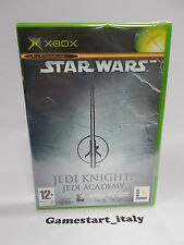 STAR WARS JEDI KNIGHT JEDI ACADEMY (XBOX) NUOVO SIGILLATO NEW - PAL VERSION