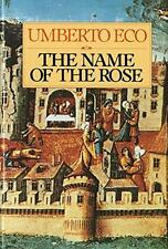 The Name of the Rose by Umberto Eco (1983, Hardcover)
